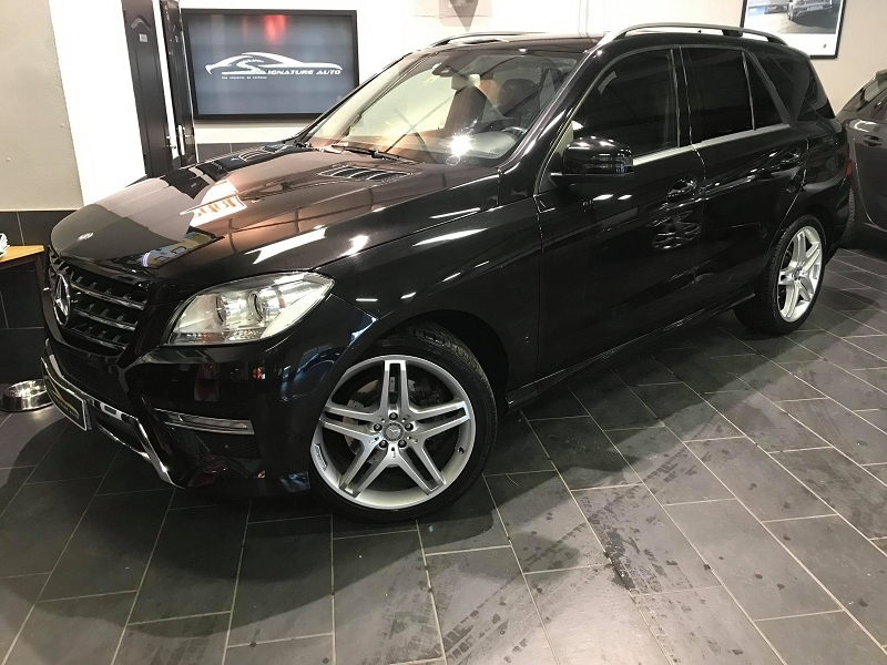 Mercedes-Benz CLASSE ML (W166) 350 BLUETEC FASCINATION 7G-TRONIC + Diesel NOIR Occasion à vendre