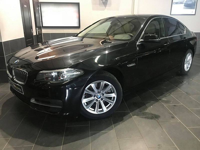 Bmw SERIE 5 (F10) 528IA 245CH LUXURY Essence NOIR Occasion à vendre