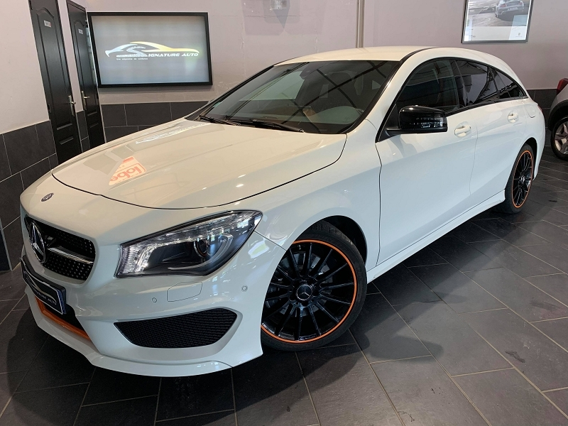 Mercedes-Benz CLA SHOOTING BRAKE 250 ORANGE ART EDITION 7G-DCT Essence BLANC Occasion à vendre